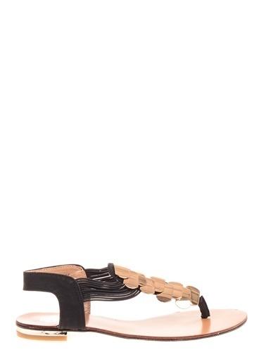 DSN Sandalet Siyah